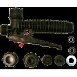 Manual valve set