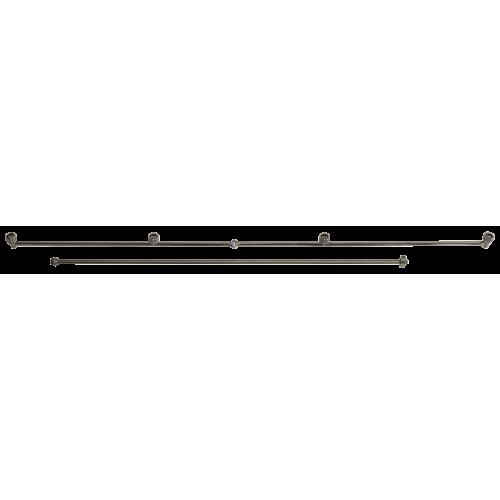 Edelstahl Spritzbalken 100 cm