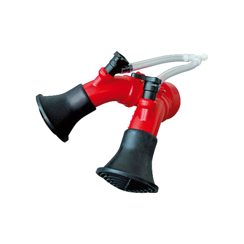 Twin nozzle