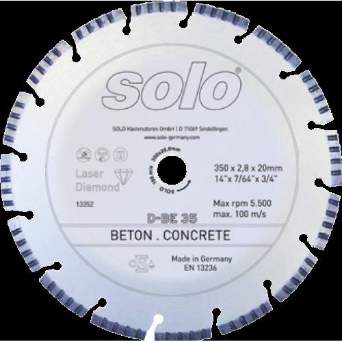 Diamond cutting wheel for CONCRETE