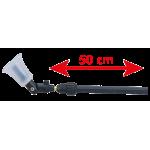 Lance télescopique, de 25 à 50 cm env.
