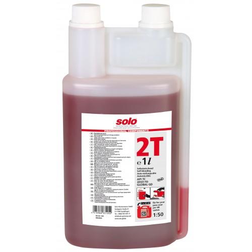 Aceite de motor de dos tiempos profesional de SOLO Botella dosificadora, 1 litro