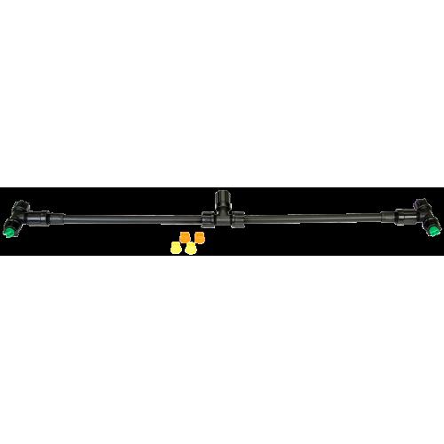 Barra pulverizadora, 60 cm, con 2 toberas