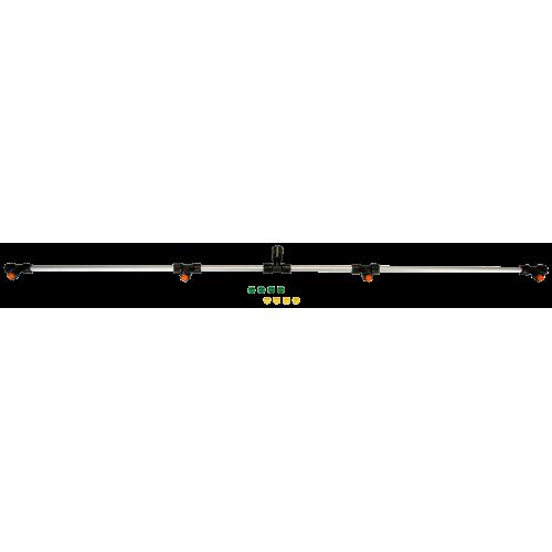 Barra de aluminio, 120 cm, con 4 toberas