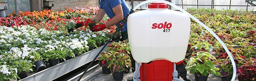 SOLO COMFORT Battery Backpack Sprayers