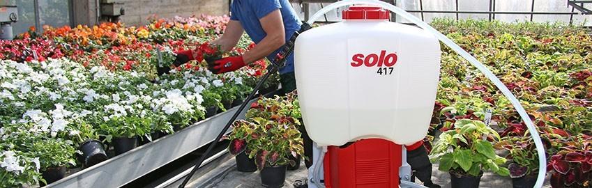 SOLO COMFORT Pulvérisateurs à batterie à dos