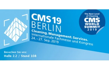 Visit us at the CMS from September 24th till 27nd